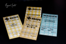 Old train tickets