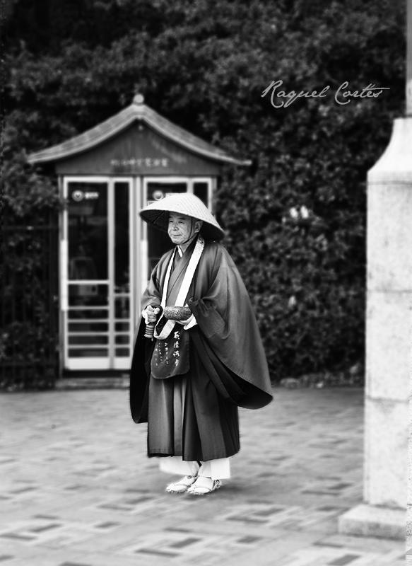 Buddhist mendicant monk
